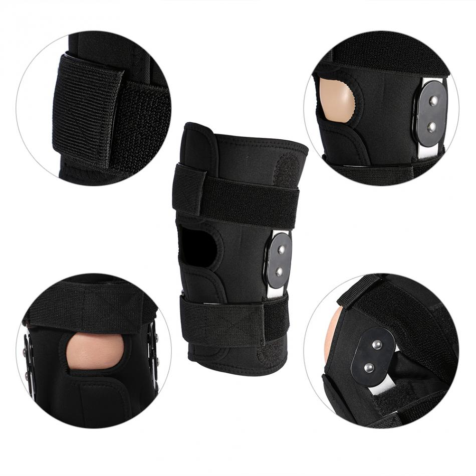 Adjustable Patella Knee Braces Arthritis Knee Joint Fixing Compression Sleeves Sports Protector Brace Knee Support Pad Knee Care цена