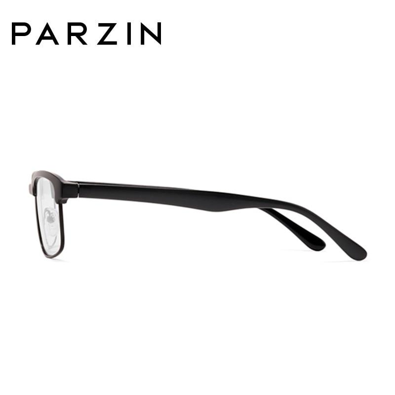 Parzin Tr 90 lunettes cadres hommes femmes myopie lunettes cadre Vintage lunettes cadre optique clair lentille lecture lunettes 5052 - 3