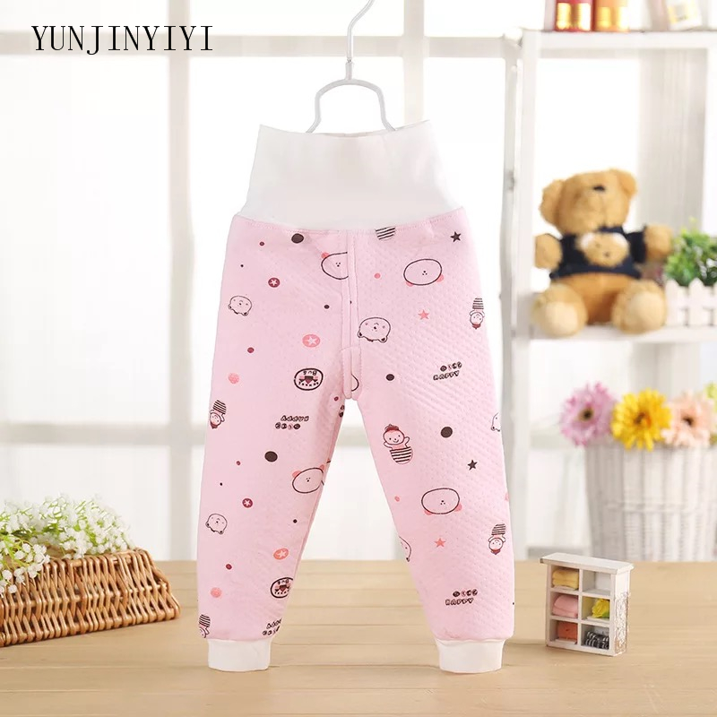 Warm-Pants Newborn Autumn Baby-Boy-Girl Winter Cotton Cartoon Fashion And High Dual-Use