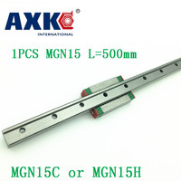 15mm Linear Guide MGN15 L 500mm Linear Rail Way MGN15C Or MGN15H Long Linear Carriage For