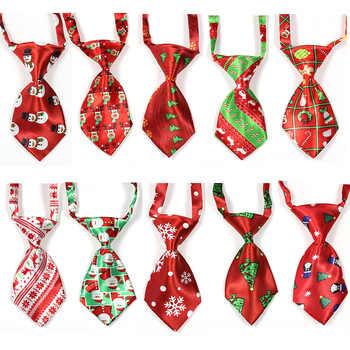 100pcs Christmas Pet Supplies Pet Dog Cat Xmas Neckties Bowties Santa Deer Pet Dog Grooming Accessories Small-Middle Dog Ties - DISCOUNT ITEM  0% OFF All Category