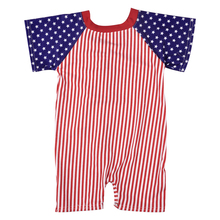 July 4th Twin Boy Girl Striped Star Summer Clothes