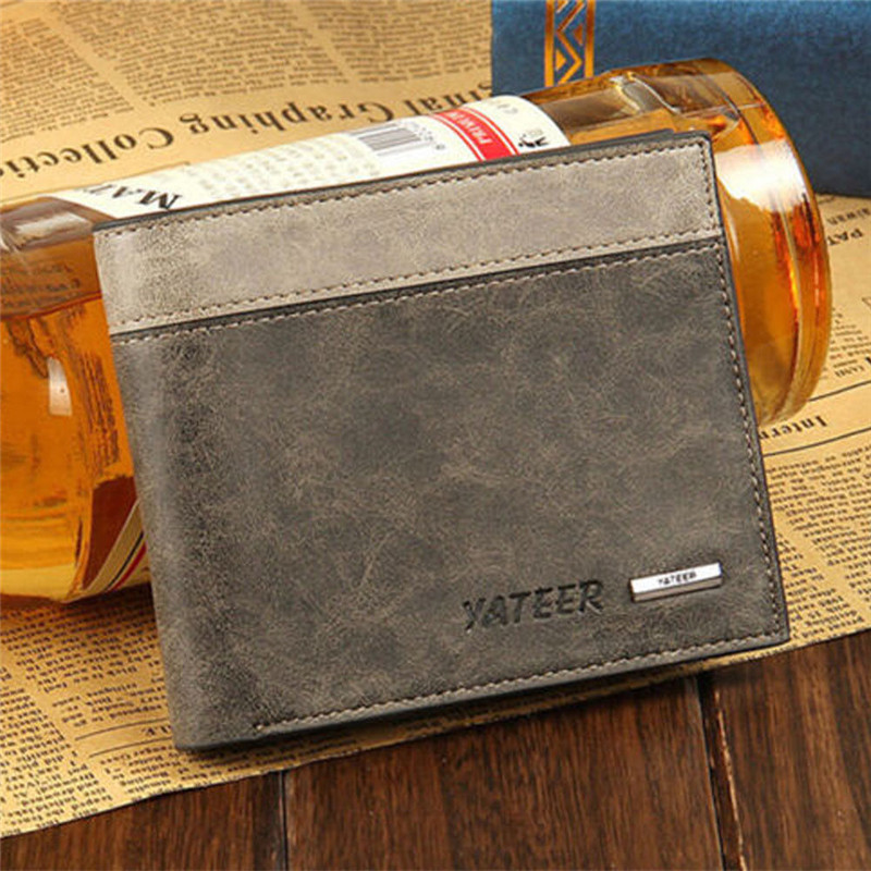 Wallet Short Purses Money-Clip Portomonee Dollar-Price Vintage Male Brand Luxury Men