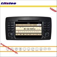 Liislee Đối Với Mercedes Benz SLK R171 2004 ~ 2011 Stereo Đài Phát Thanh CD DVD Player GPS Navigation 1080 P Hệ Thống Màn Hình NAVI gốc Thiết K