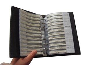 Image 4 - Nouveau 0805 SMD condensateur échantillon livre 105valuesX25pcs = 2625 pièces 0.5PF ~ 10UF condensateur assortiment Kit Pack