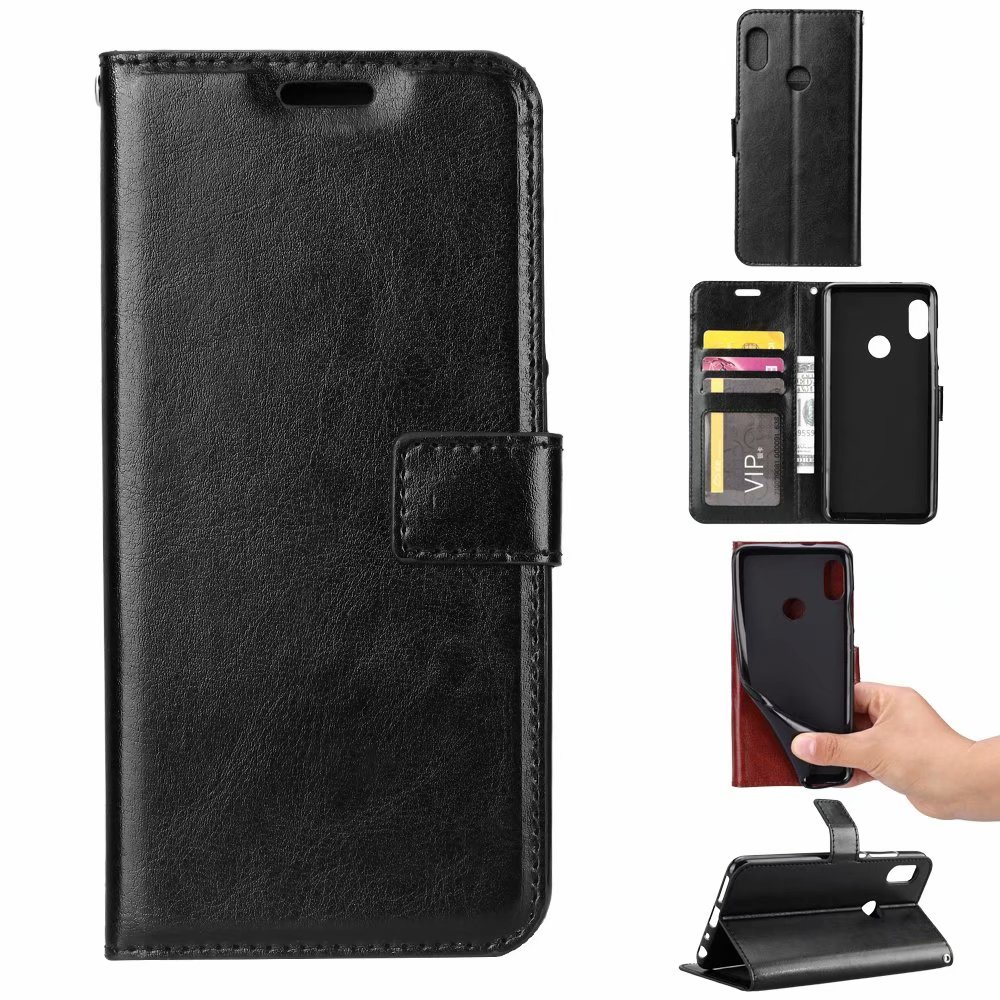 50pcs lot Wallet PU leather Case For Huawei Mate20 Mate 20 Pro P Smart 2019 Honor