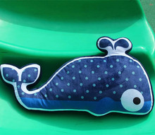 large 70x15x30cm cartoon whale plush toy soft throw pillow. creative cushion for leaning on ,birthday present Xmas gift c704