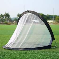 2 шт. футбол футбольные ворота с сеткой складной черный Цель обучения чистая палатка дети Крытый Открытый Играть Игрушка