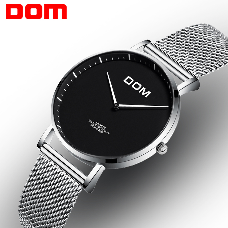 DOM Watch Woman Minimalist Watches Fashion Casual Women Quartz Waterproof Watch Female Romantic Watches Montre Femme  G-36D-1MS