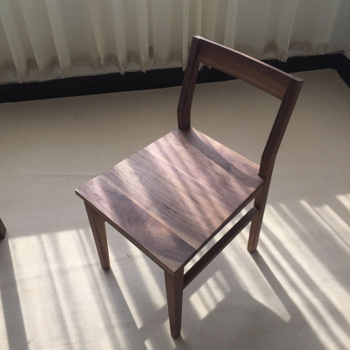 the special offer solid wood table and chair desk chair black walnut oak wood wax green ch177 natural side chair walnut ash