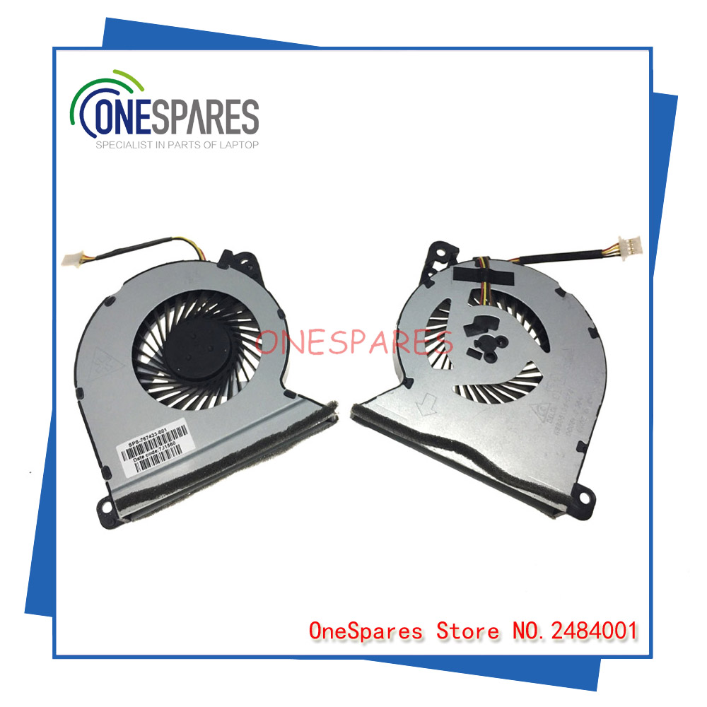 New Original Laptop CPU Cooler Fan For Genuine HP ProBook 440 470 455 450 G2 Series 15.6 Heatsink KSB05105HA701 767433-001
