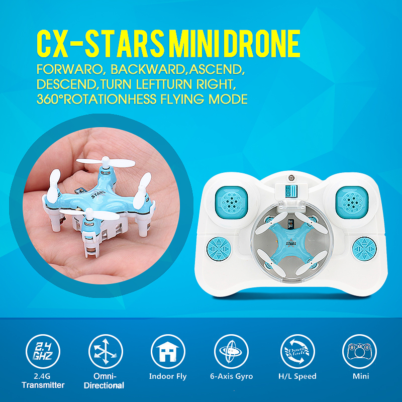 SKeye mini RC Quadcopter 4CH shatterproof mini helicopter RC Drone Mode2 RC helicopter UAV 4 axis