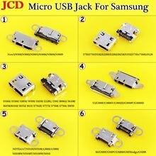 Разъем micro usb jcd для док станции зарядный порт samsung galaxy
