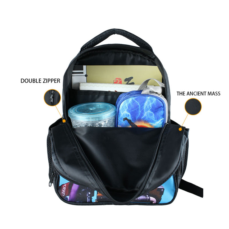 Black Aircraft Students Backpack 13 Inch Children School Bags ...