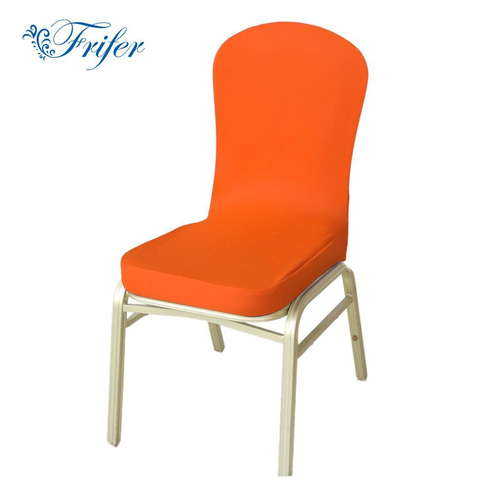 High Quality Dining Chairs: High Quality Dining Chair Covers Solid Banquet Decoration