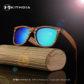 2017 Polarized Zebra Wood Sunglasses Men Women Hand Made Vintage Wooden Frame Male Driving Sun Glasses Shades Gafas With Box