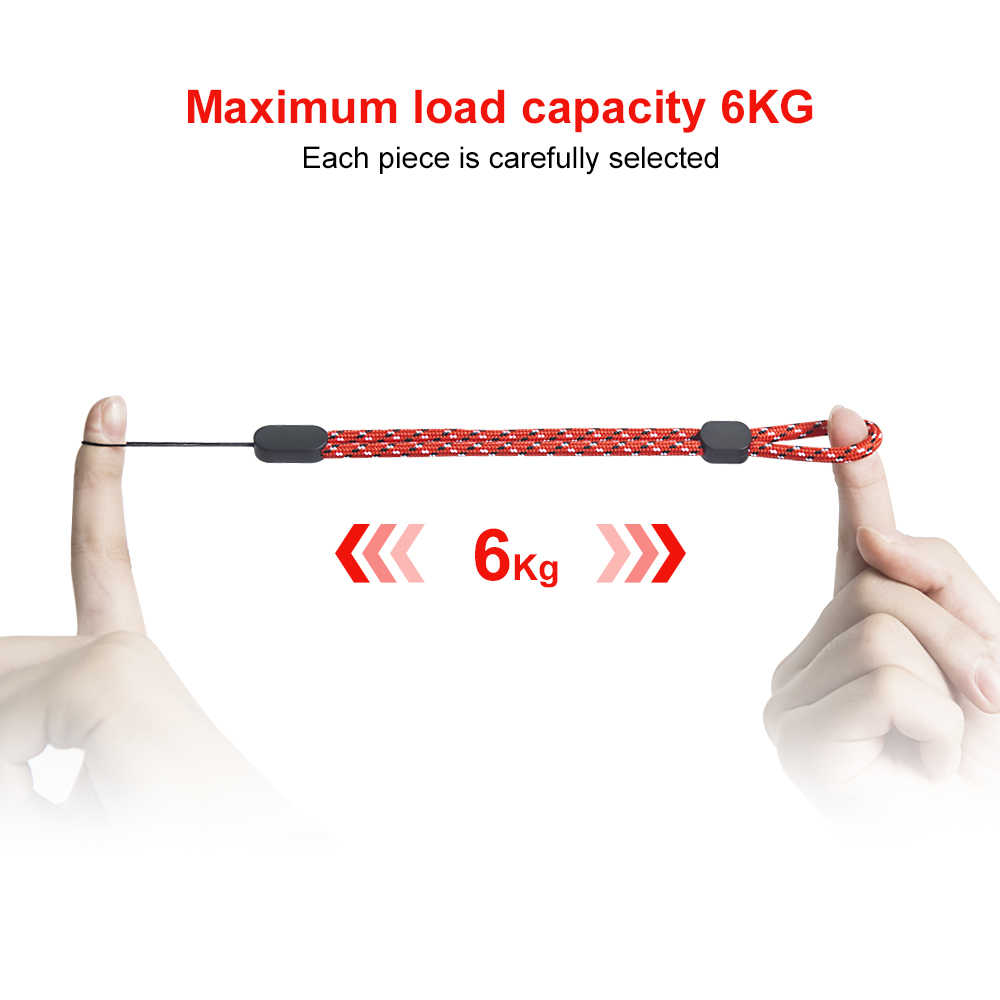 Ascromy 10 шт. Нейлоновый Регулируемый ремешок для запястья для камеры сотового телефона Gopro USB флэш-накопитель ключи ручной держатель шнура ремни
