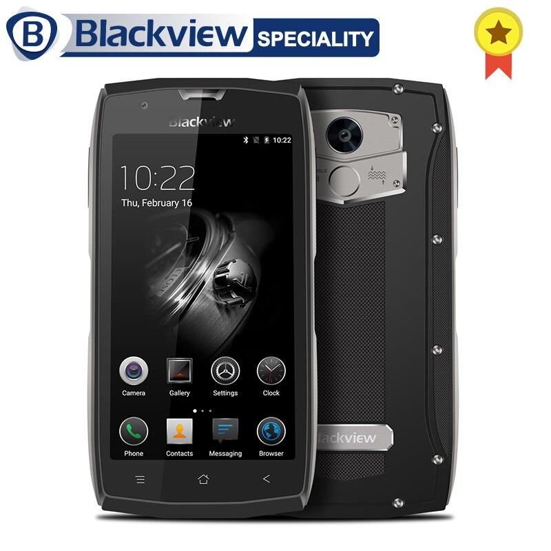 Blackview BV7000 Pro Smartphones À Prova D' Água MT6750T 64 4 Polegada Moblie Telefone Octa Núcleo 5.0 gb RAM gb ROM 13.0MP Android 6.0 Celular