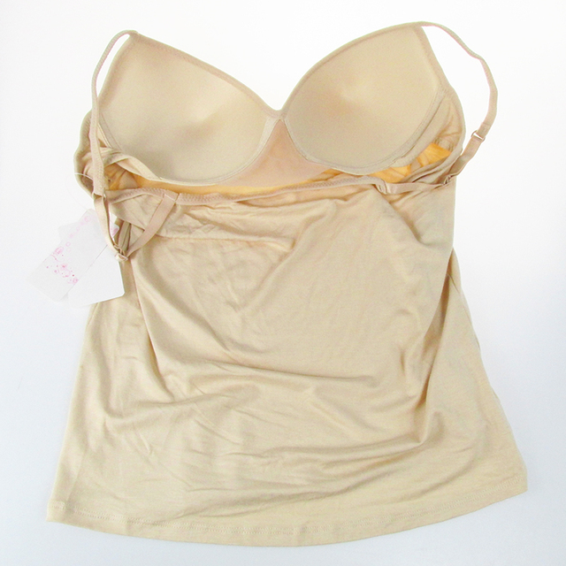 Casual Top with Built-in Bra