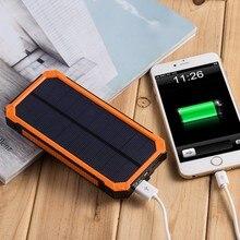 PowerGreen Mini External Solar Power Battery Charger for Mobile Phone