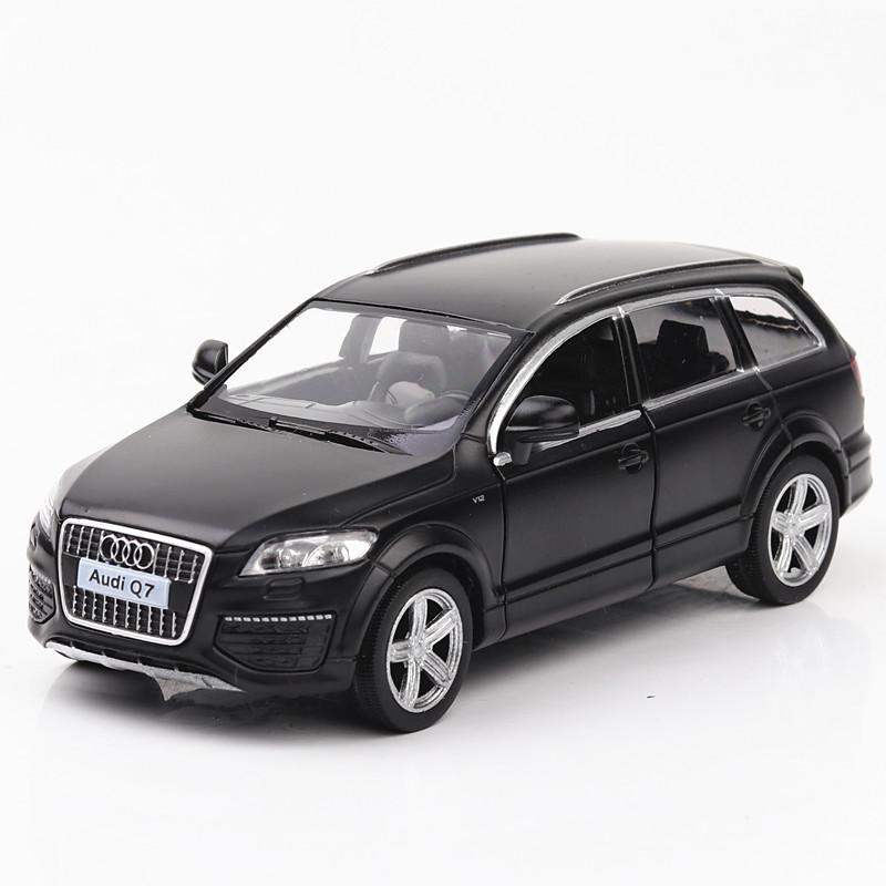 1:36 Toy Car Audi Q7 Car Metal Toy Diecasts & Toy Vehicles Car Model Miniature Scale Model Car Toys For Children
