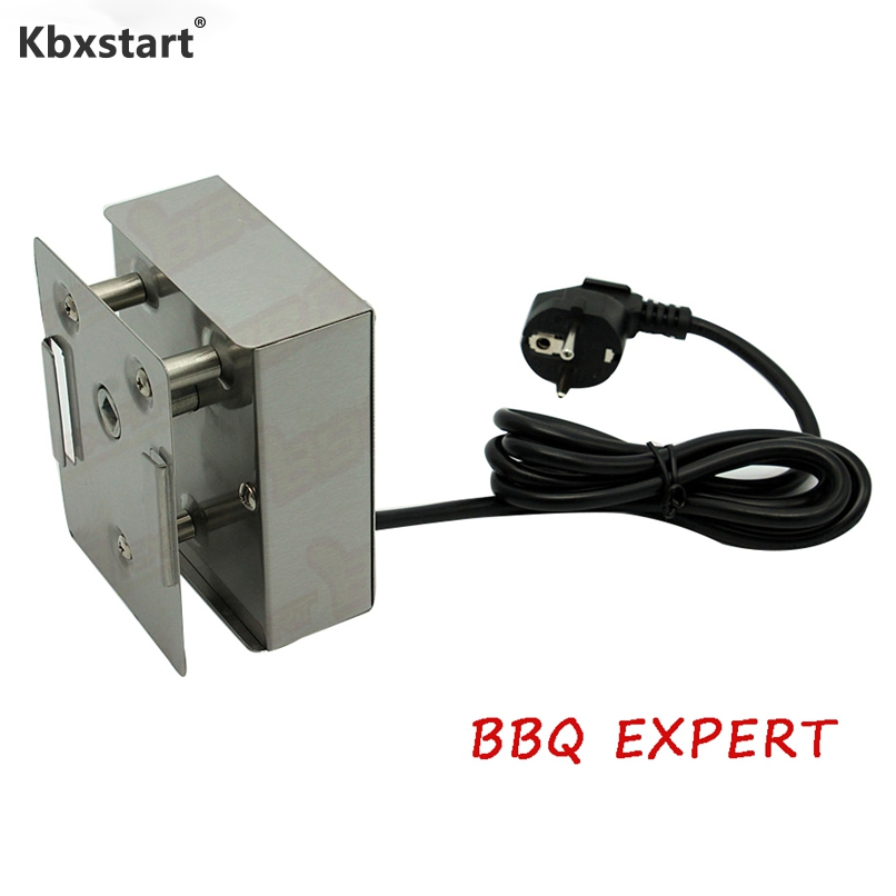 BBQ Motor Eletrico Grill Rotisserie Rotating Barbecue Spit 24KGS Heavy Duty Metal Rotisserie Motor Moteur Tournebroche