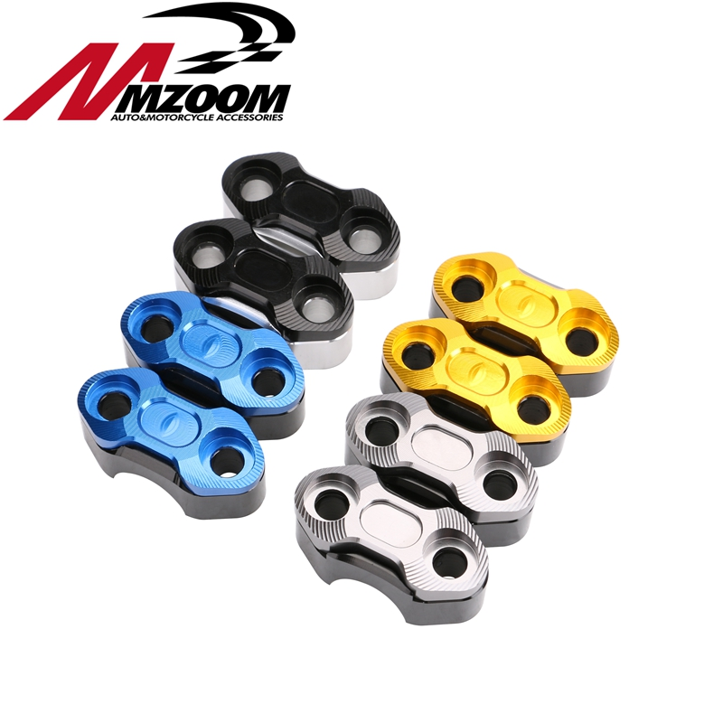 Free shipping Motorcycle Accessories 22mm 7/8 Handlebar Bar Riser Adapter Clamp Holder