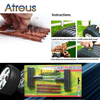 Atreus 1Set Professional Auto Car Tire Repair Tool Kit For Mercedes W203 BMW E39 E36 E90 F30 F10 Volvo XC60 Audi A6 c5 c6 Q5 Q7 image