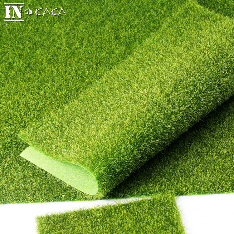30*30cm Micro Landscape Fairy Garden Decoration Simulation Artificial Moss Fake Moss Eco Bottle Lawn Grass Turf DIY Accessories