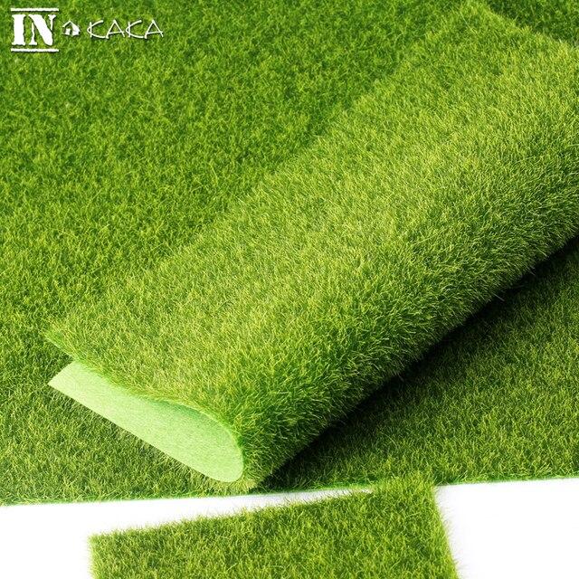 30*30cm Micro Landscape Fairy Garden Decoration Simulation Artificial Moss  Fake Moss Eco Bottle Lawn