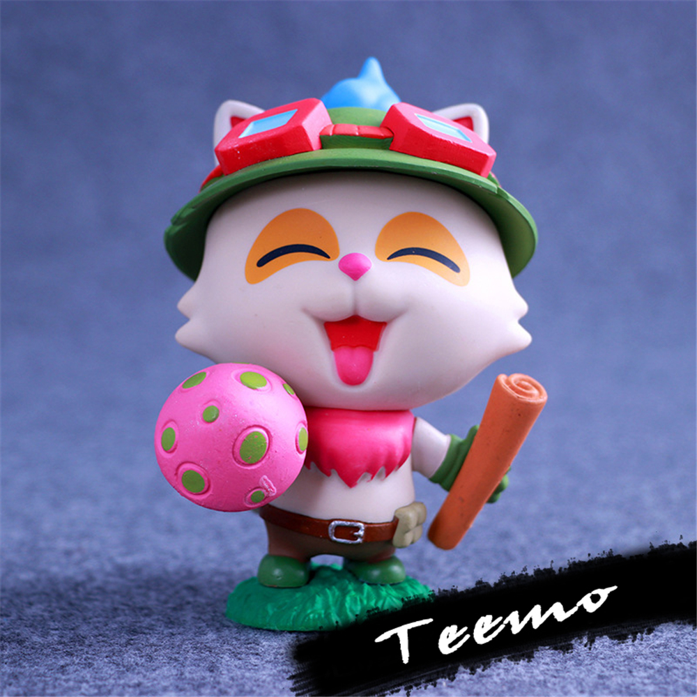 LOL Game Teemo PVC Action Figure High Quality Collectible Model Toys Christmas Gift Toy Figures Kawaii Kids Classic Present