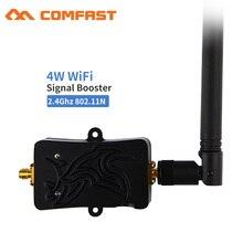 Amplificador de señal WiFi WLAN de 4 W para café, hogar, oficina, 2,4 Ghz, Router WLan inalámbrico, amplificador de antena WiFi 5bi para router