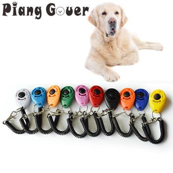 2 sztuk pies Clicker zabawki dla zwierząt domowych trening pilotów posłuszeństwa pies kot trener szkolenia tanie i dobre opinie Szkolenia Clickers Z tworzywa sztucznego L402 piang gouer