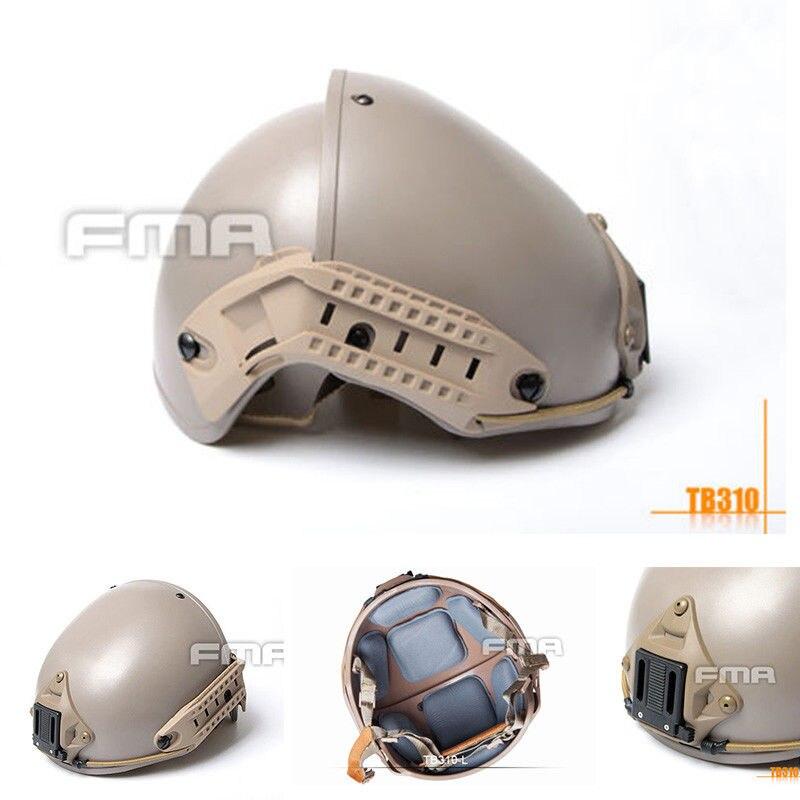 FMA TB310 Outdoor Tactical 2 in 1 CP Helmet DE Color L XL