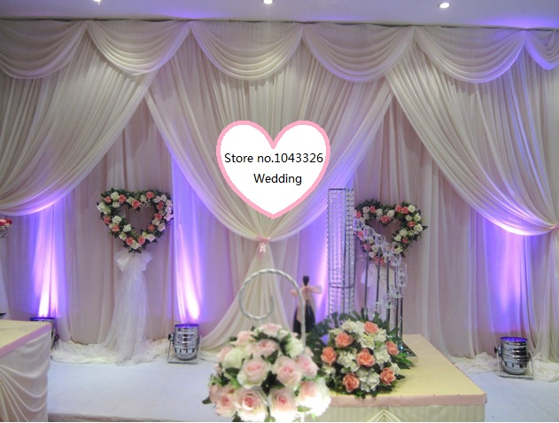 10*20ft (3m*6m width) 4*8m wedding party event decorative backdrop wall hanging stage swag gauze curtain background drapery10*20ft (3m*6m width) 4*8m wedding party event decorative backdrop wall hanging stage swag gauze curtain background drapery