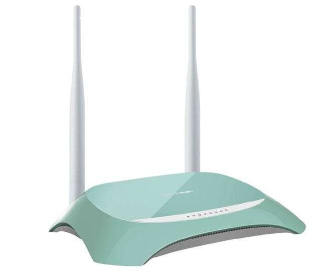 TP-LINK TL-WR845N 300M wireless router WIFI relay dual antenna 11N Free Shipping