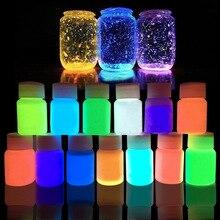 13 акриловая краска светятся в темноте золото светящаяся краска световой пигмент Флуоресцентный порошок Краски ing для ногтей товары для рукоделия