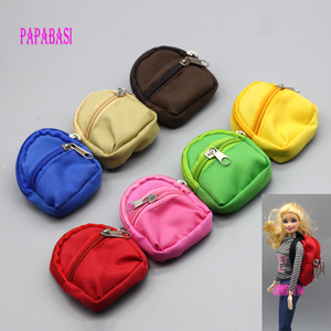 1PCS Dolls Bag Accessories backpack For Barbie Doll For BJD 1/6 blyth doll Best Gift(China)