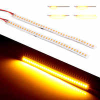 2PCS 32 LED Light Strip Turn Signal Indicator Light Dynamic Turn Signal Lamps Flexible ledStrips for Auto Car for Motorcycle 12V