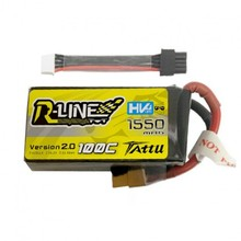 TATTU R-LINE 1550 mAh 4S 100C lipo bateria para drones FPV