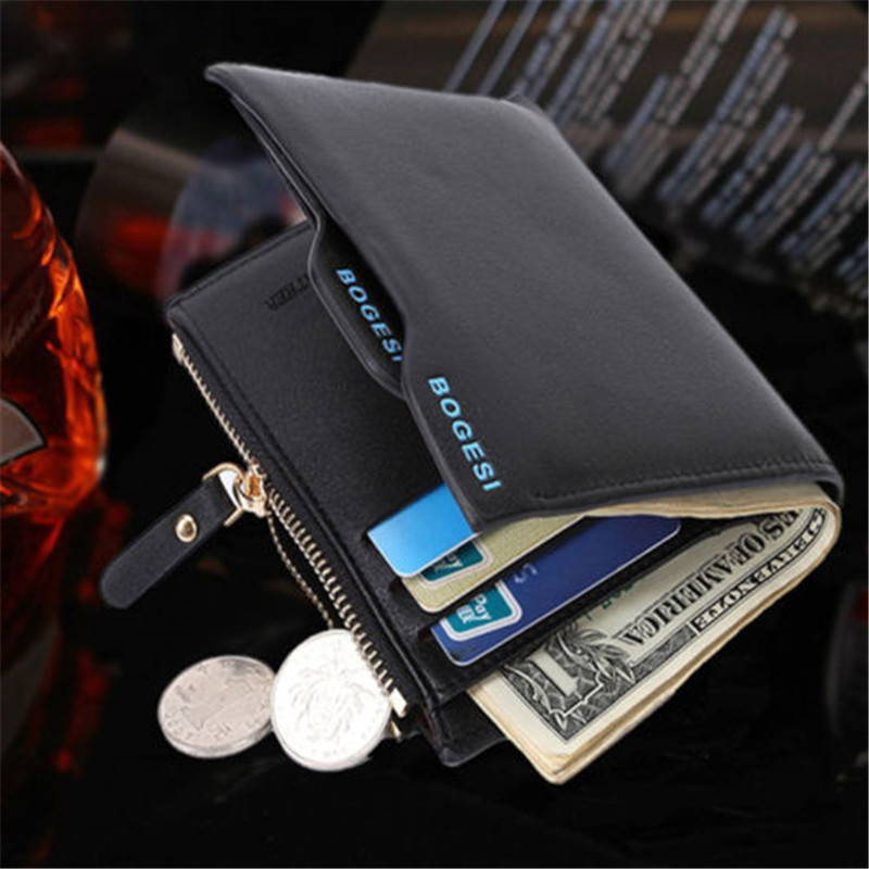 Luxury High Quality Wallet Mens Soft Leather Bifold ID Credit Card Holder New