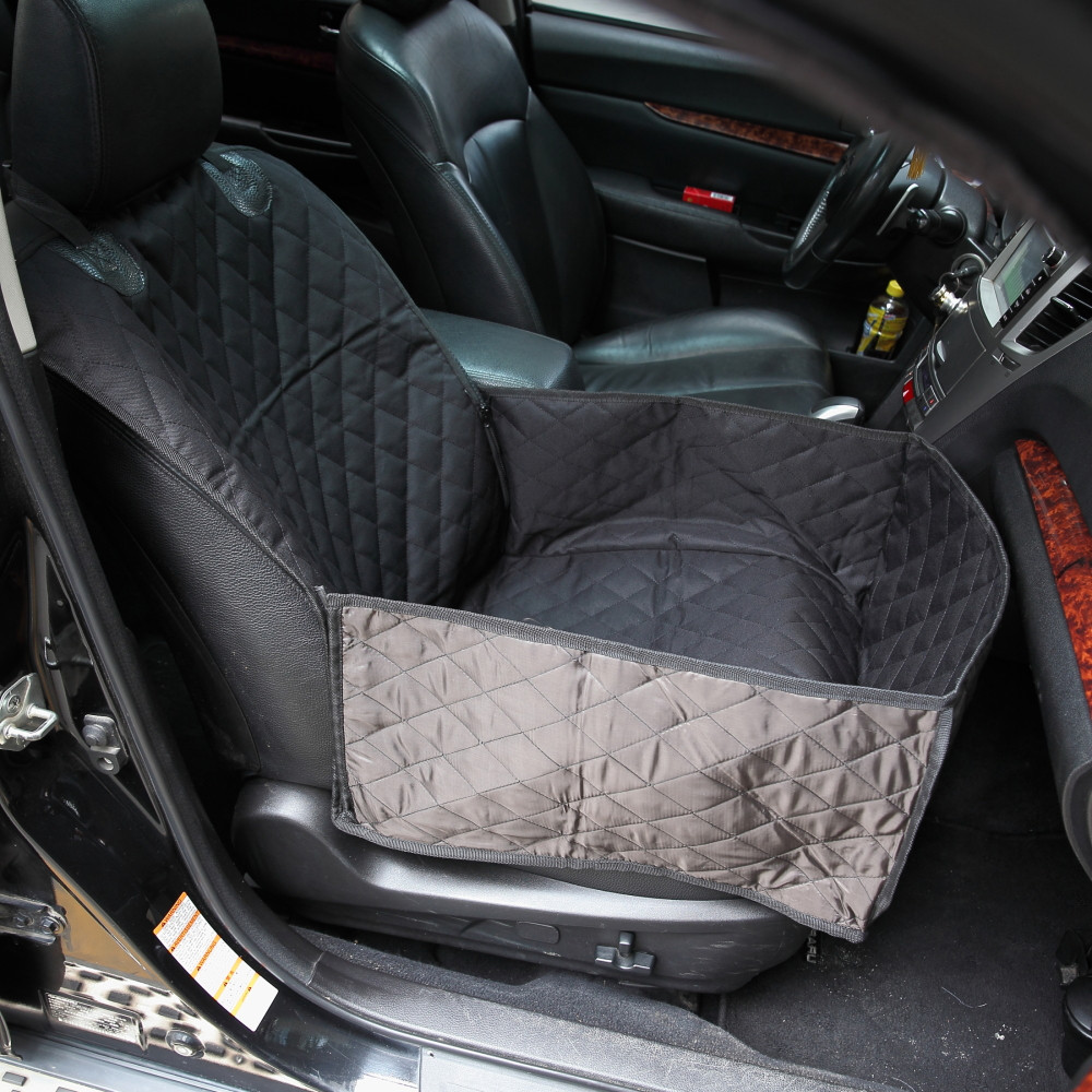 Soft Pet Car Front Single Seat Cover Bucket Seat Cover Dog