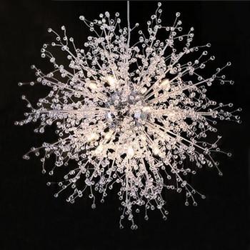 Manggic Modern White LED Ceiling Lighting For Living Room Ceiling Led Crystal Ceiling Lamp Luminaires For Bedroom