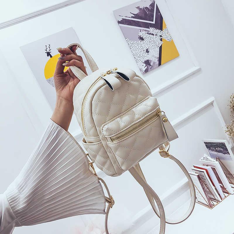 LEFTSIDE Lingge рюкзак женская сумка из искусственной кожи женские маленькие рюкзаки Back Pack женские школьные сумки для подростков девочек желтый