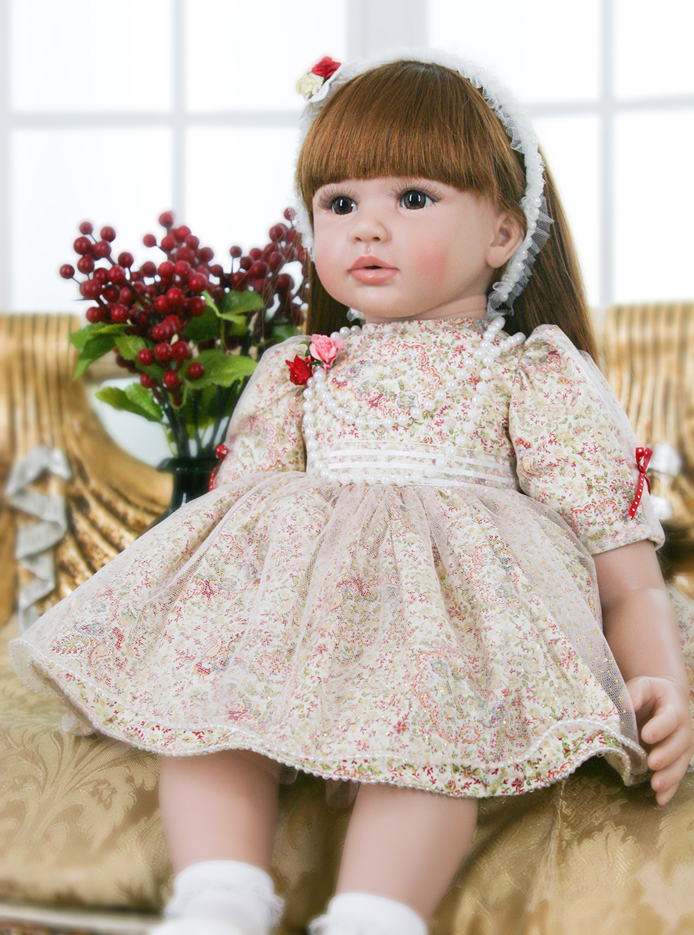 Pursue 24/60 cm Adora Doll Reborn Silicone Lifelike Baby Toddler Dolls Toys for Children bebe reborn menina de silicone menina pursue blue eyes princess reborn 55cm silicone baby dolls adora doll for girls kids bebe reborn menina de silicone reborn babies