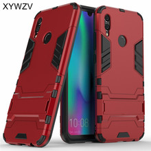 Huawei Honor 10 Lite Case Cover Armor Rubber Hard PC Phone For Fundas^