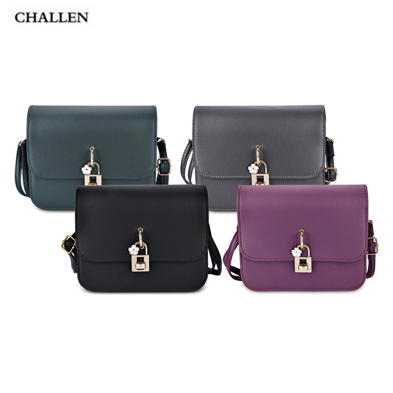 5bff91a99e97 Twist Lock Shoulder Crossbody Bag for Women Fashion small leather flap  handbags high quality hotsale ladies party purse clutches-in Shoulder Bags  from ...