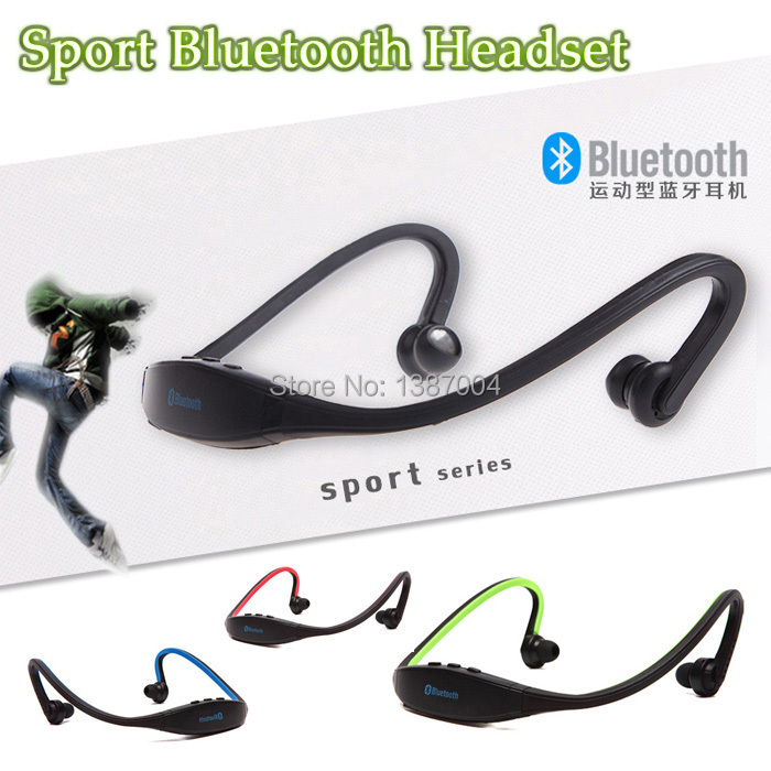Universal Sport Stereo MP3 Wireless Bluetooth 3.0 Headset Earphone Headphone for iPhone 5/4 for Samsung galaxy S3 S4 high quality 2016 universal wireless bluetooth headset handsfree earphone for iphone samsung jun22