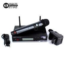 True Diversity Stage Singer Professional UHF Wireless Microphone System Vocal Handheld PC Karaoke Mic Mike Microfono Inalambrico