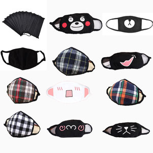 Image 1 - 1PCS Face Mouth Mask Unisex Mouth muffle Unisex Respirator Stop Air Pollution Cartoon Lovely Cotton Mask
